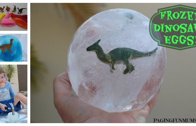 Frozen Dinosaur Eggs!
