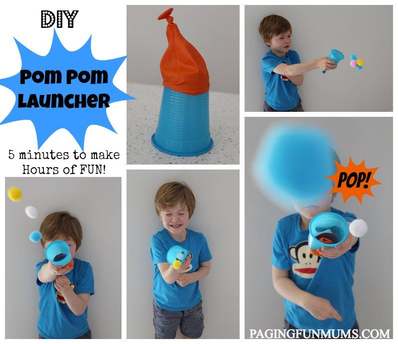 Pom Pom Launcher