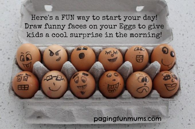 Eggy Faces!