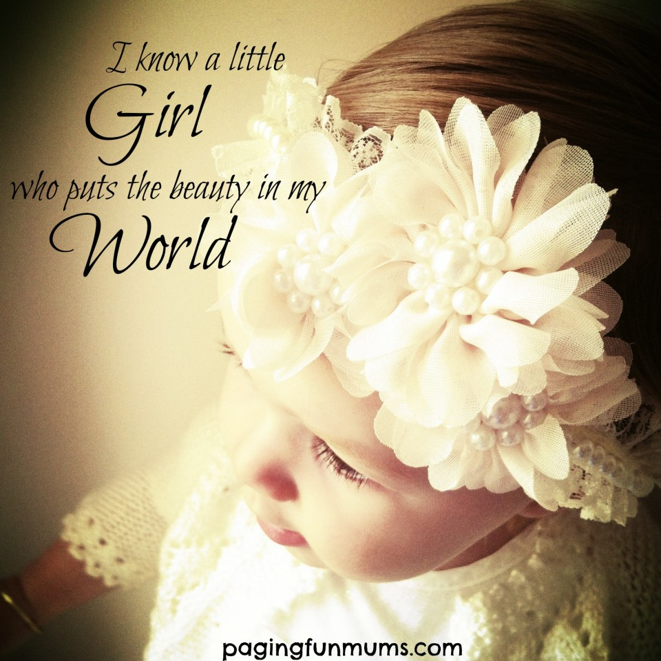 I know a little girl