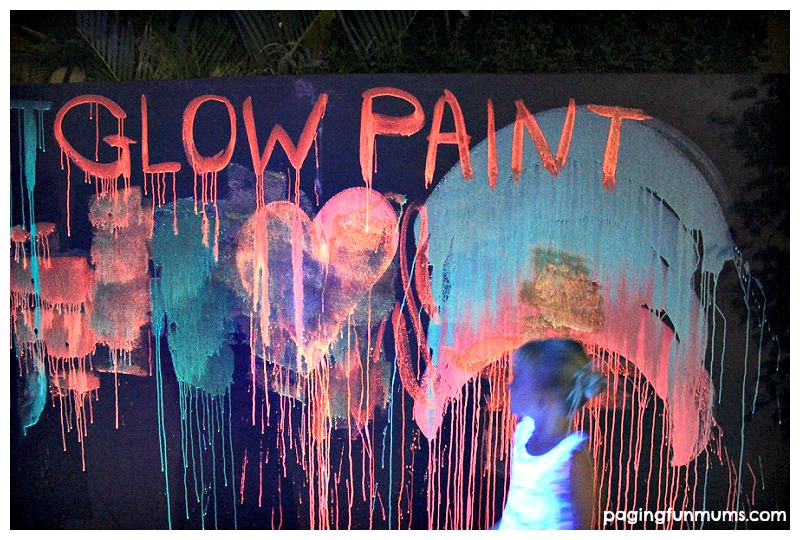 Glowing Chalk Paint