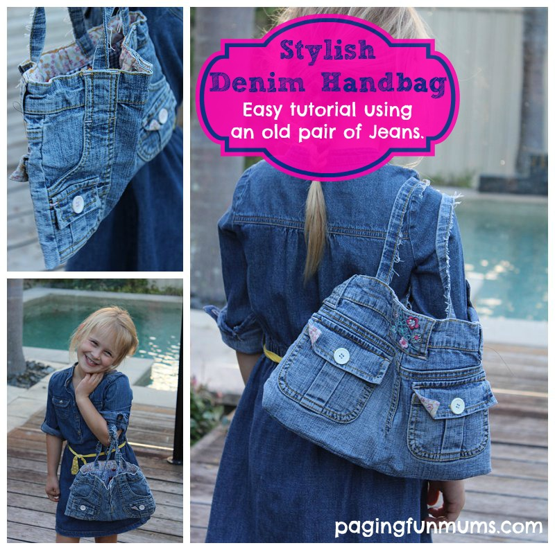 Stylish Denim Handbag Tutorial