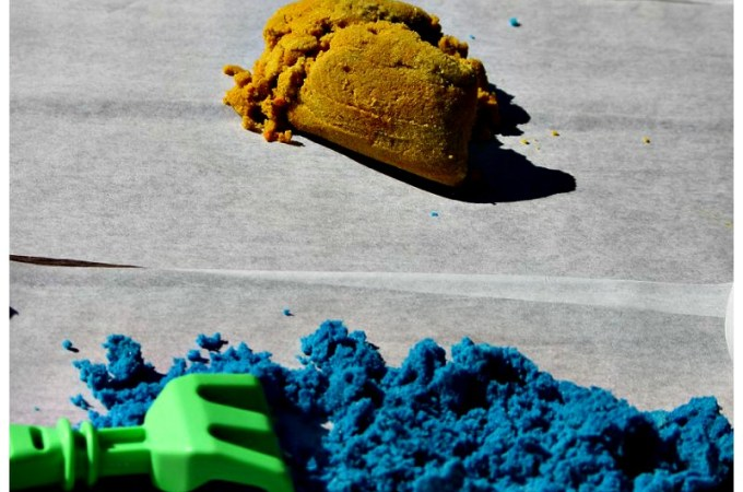 How to Dye Regular Sand for Craft Projects
