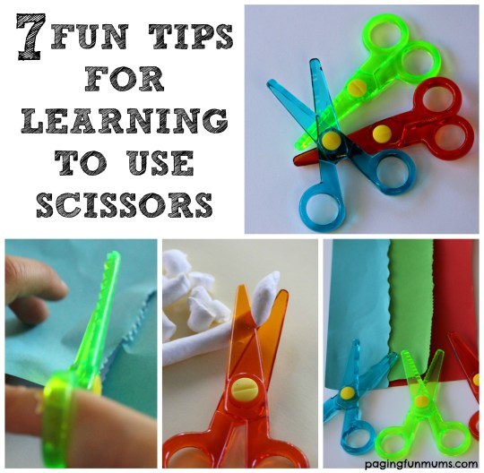 7 Fun Tips for Learning How to Use Scissors