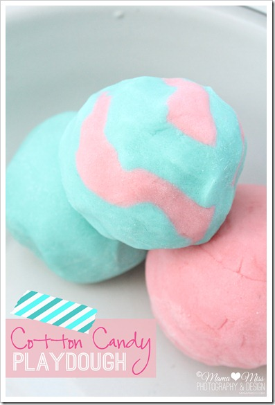 Cotton Candy Playdough