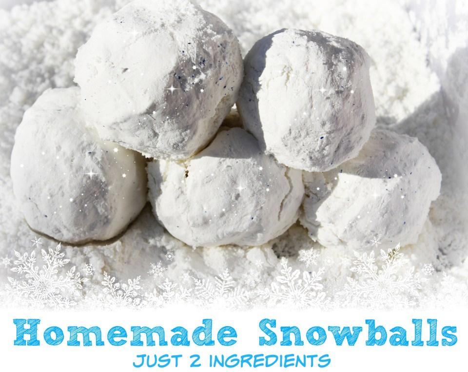Homemade Snowballs