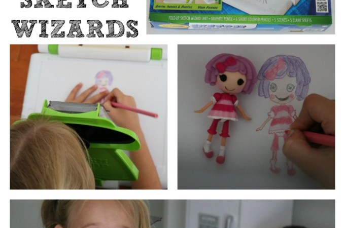Crayola Sketch Wizard – a FUN Gift idea!