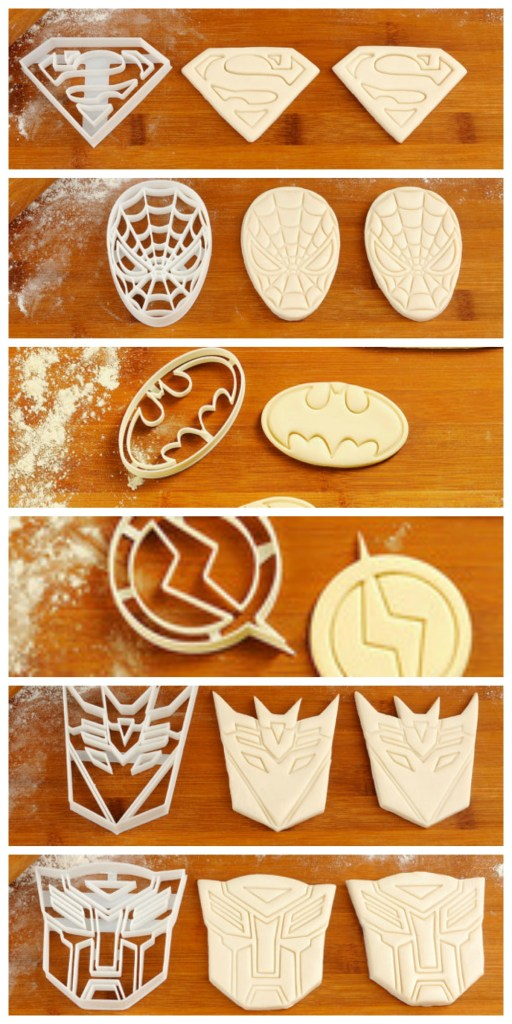 Fun Novelty Cookie Cutters! Perfect for kid's parties or playdough!