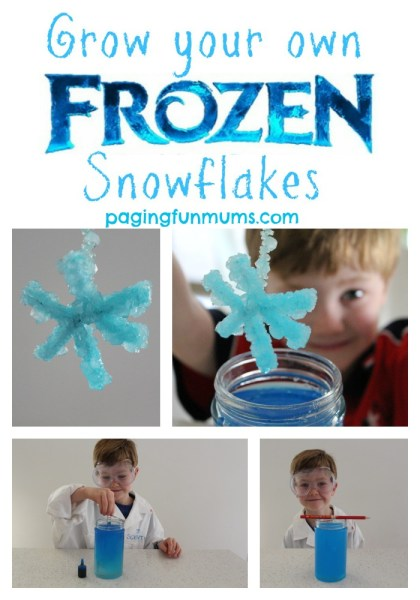 How to grow your own frozen snowflakes