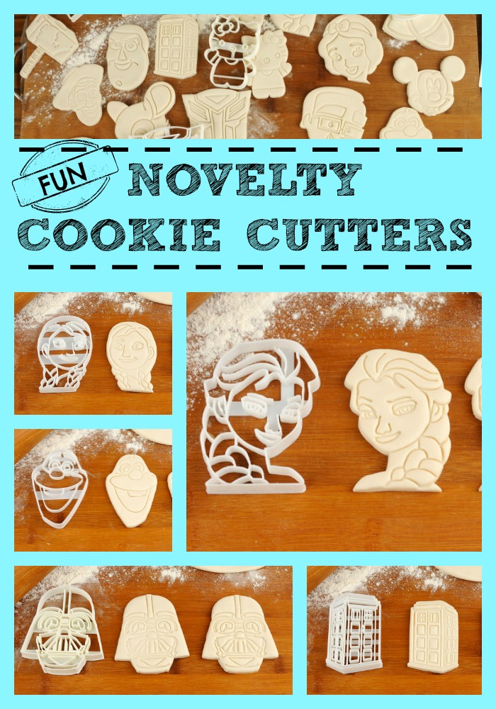 Novelty Cookie Cutters! Perfect for any party theme!