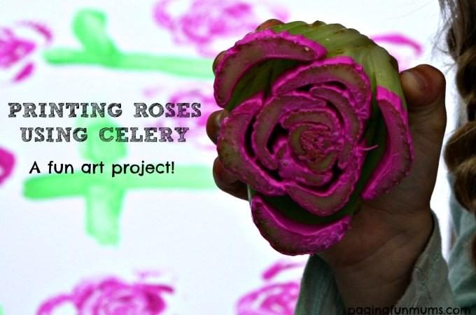 Printing Roses using Celery!