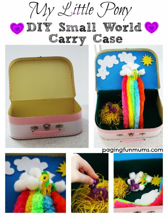 MLP DIY Small World Carry Case