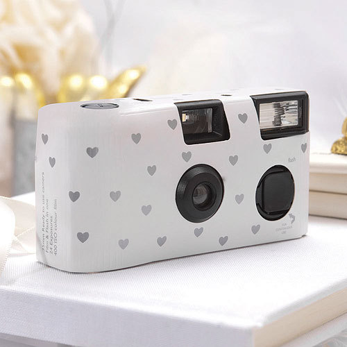 Cute disposable cameras for weddings! Such a FUN idea!