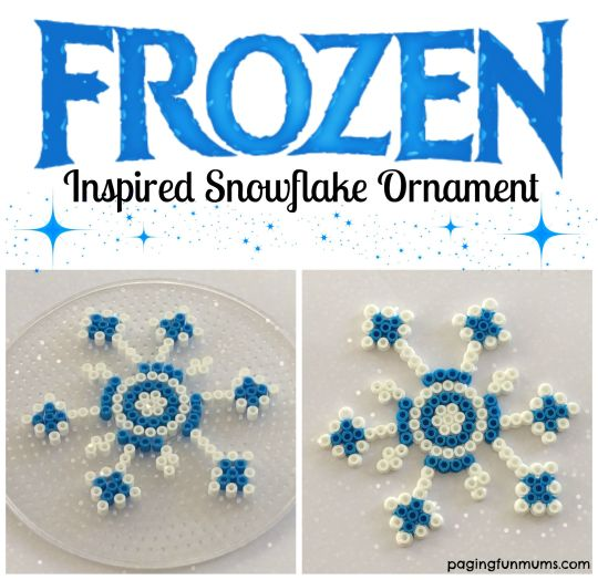 Fun Frozen themed craft idea! Perfect for Christmas!