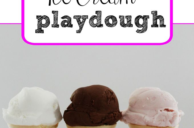 Ice Cream Playdough