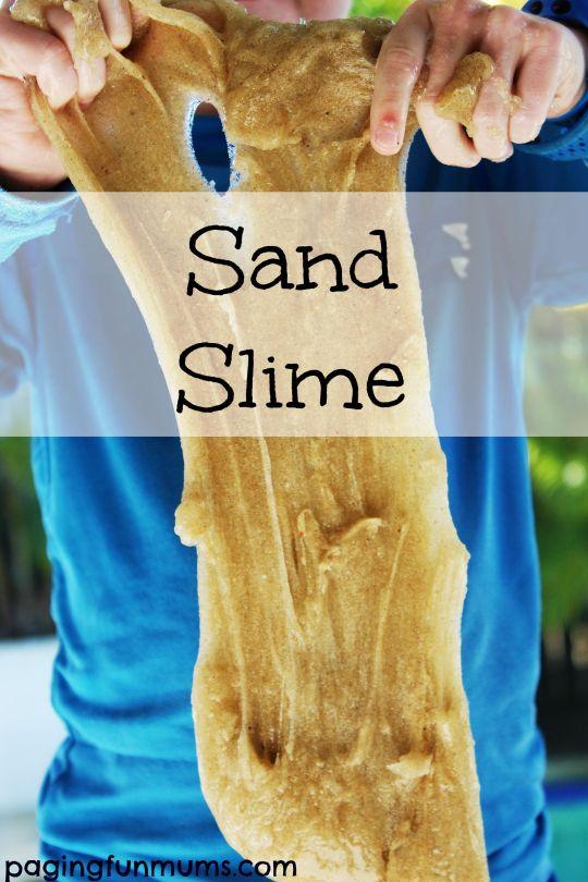 Sand Slime DIY