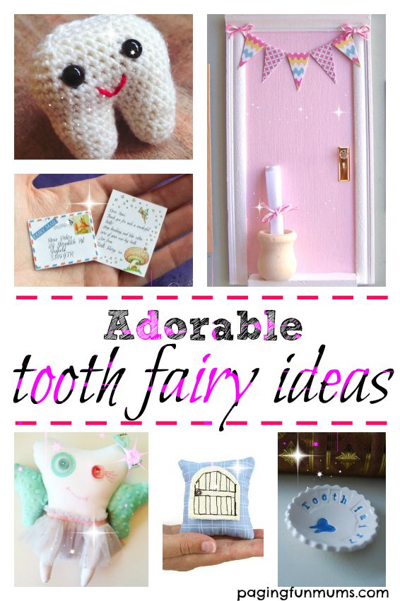 Adorable Tooth Fairy Ideas