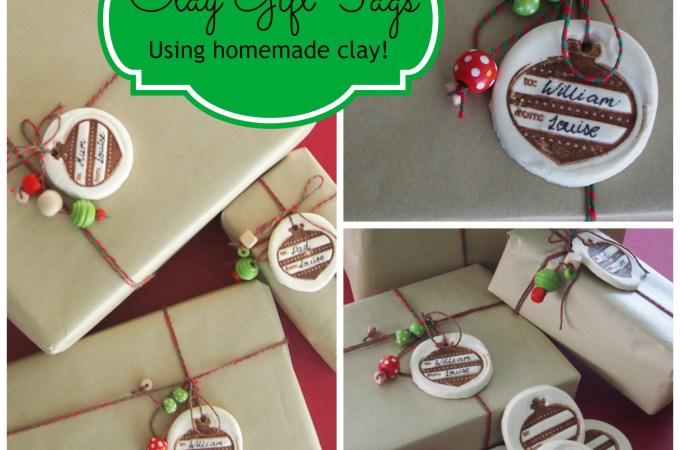 Homemade Clay Gift Tags