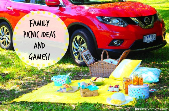 Family Picnic Ideas and Games!