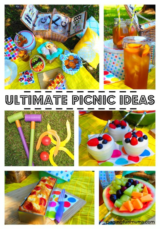 Ultimate Picnic Ideas - so many FUN ideas and yummy recipes!