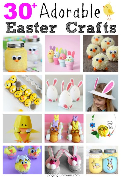 30+ Adorable Easter Crafts