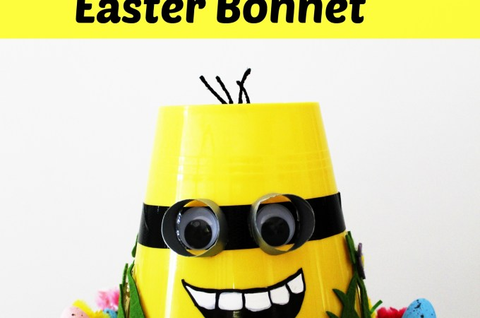 DIY Minion Easter Bonnet