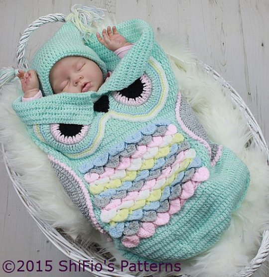 Beautiful Owl Crochet Blanket Pattern