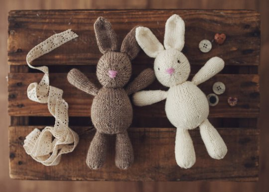 Cute Toy Bunny Pattern
