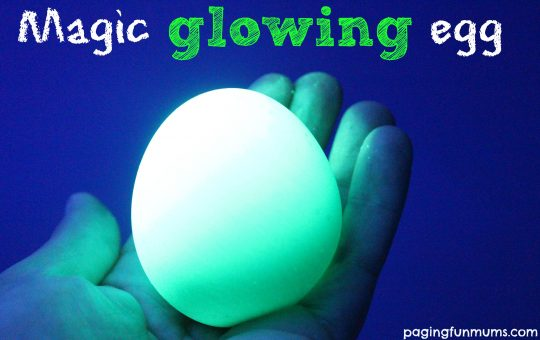 Magical Glowing Egg