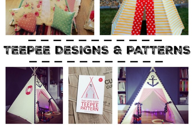 Teepee Designs and Patterns