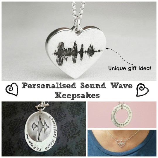Personalised Keepsake Idea - turn your voice or someone else's into a unique gift.