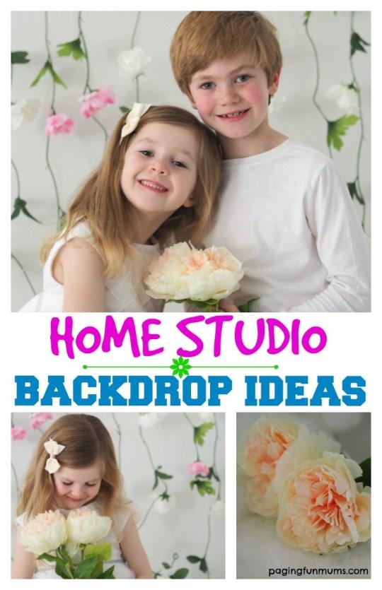 Home Studio Backdrop Ideas