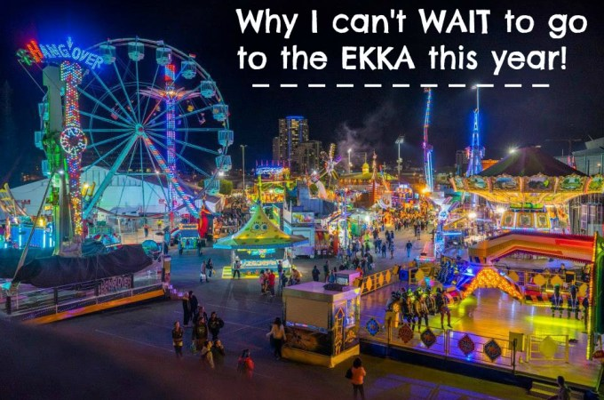 Why I can't wait to go to the Ekka this year