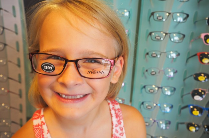 New Moana glasses in-store at Specsavers!