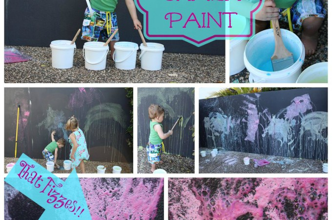 Fizzing Chalk Paint – video tutorial!