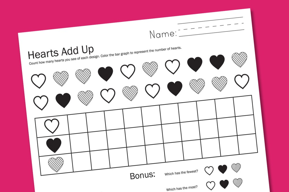 medium resolution of Valentine Worksheets - Paging Supermom