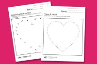 Valentine Worksheets - Paging Supermom