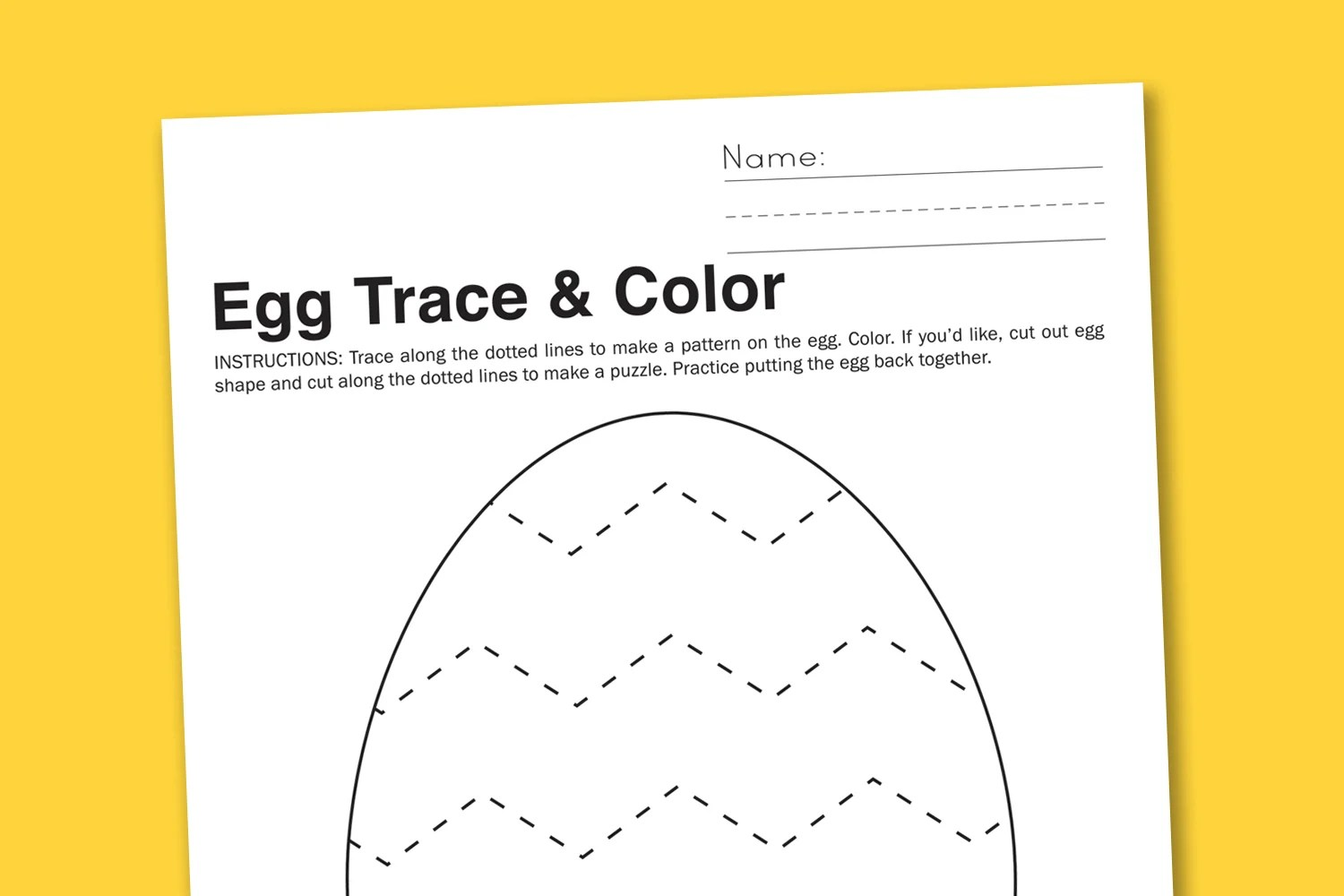 Latest Hd Easter Worksheets For Preschool