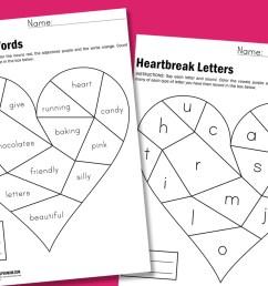 Heartbreak Worksheets - Paging Supermom [ 1000 x 1500 Pixel ]