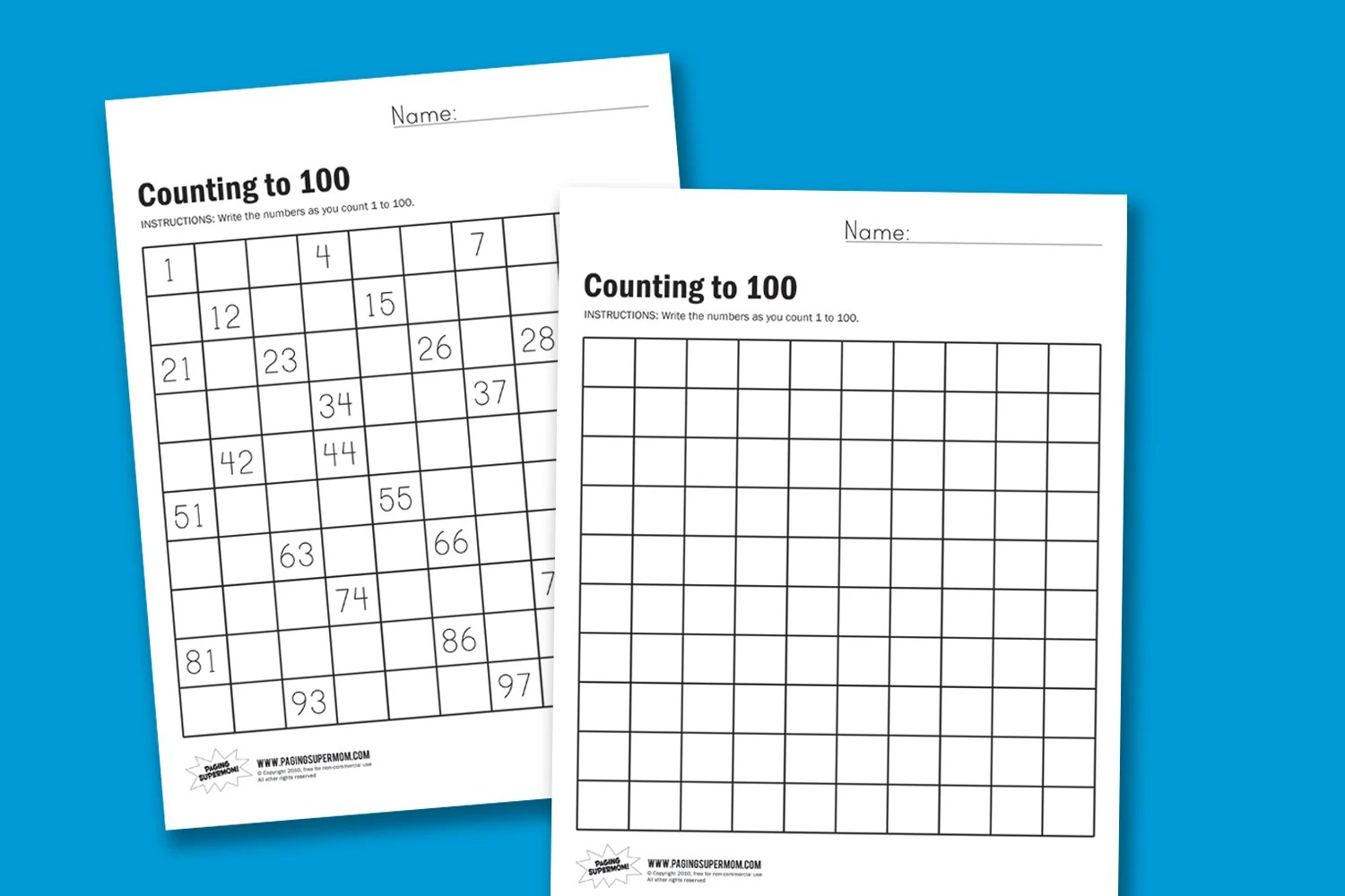 How To Teach Counting To 100