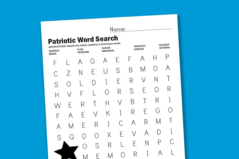 Summer Word Search Worksheet