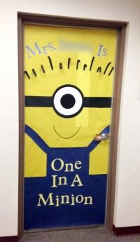 Teacher Appreciation Door Decorating - Paging Supermom
