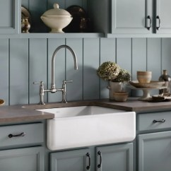 Country Kitchen Sink Magnets Best Farmhouse Sinks How To Choose An Apron Front That Will Last I Love Kohler Cast Iron Farm Seen On Pagingsupermom