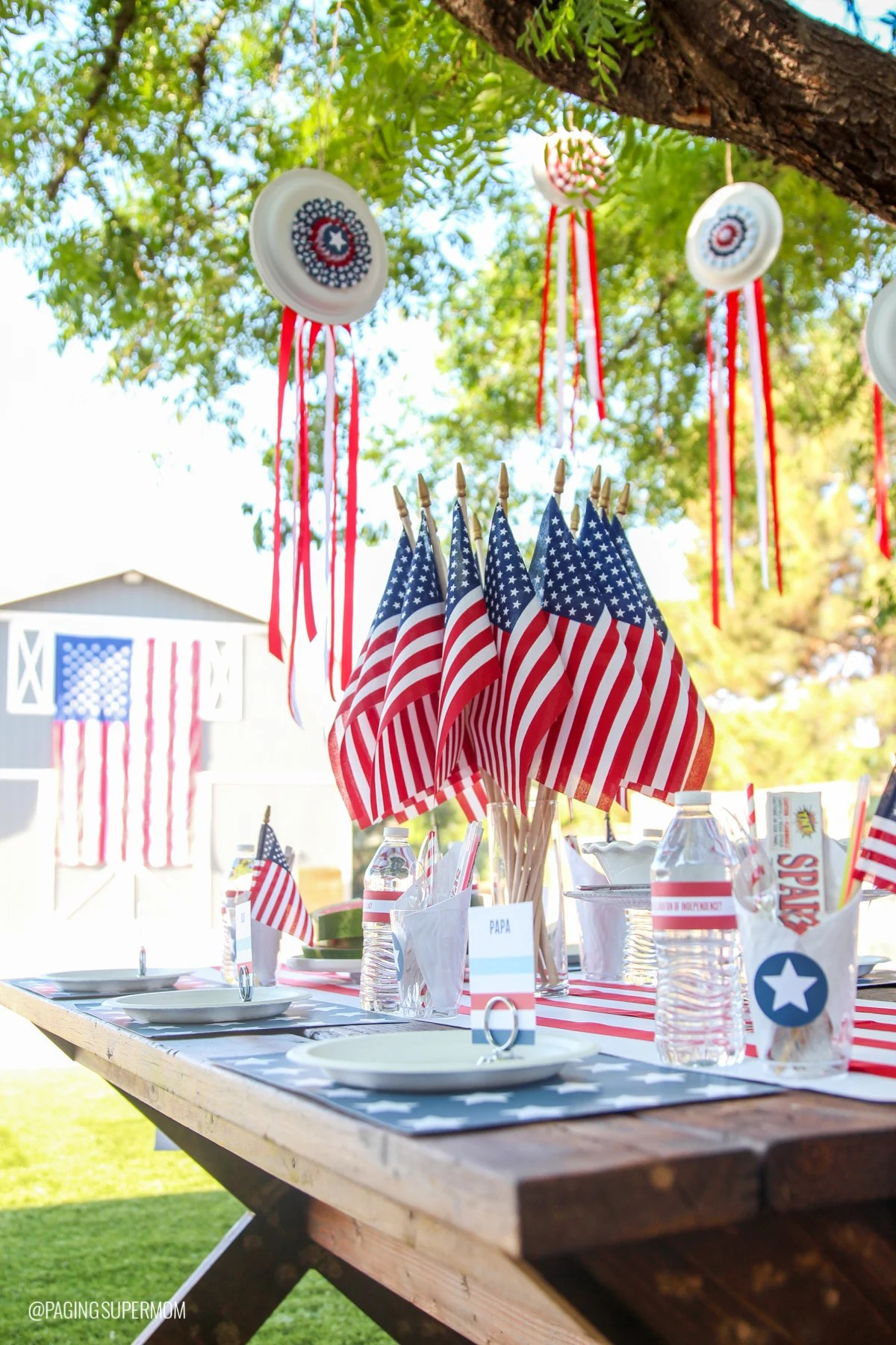 Printable July 4th Decor Amp Easy Fourth Of July Summer Barbecue Ideas