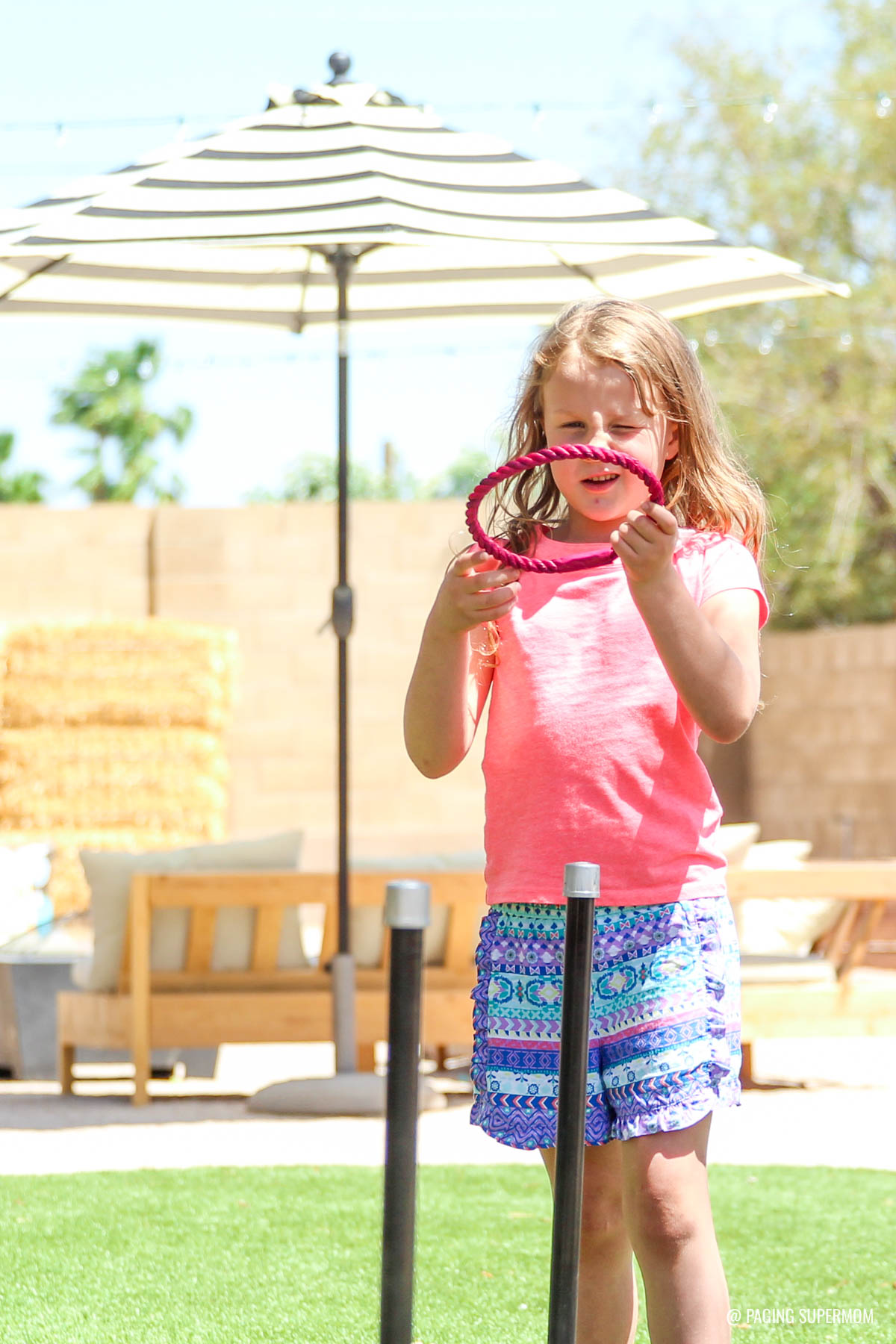 Backyard Games  How to Make Yard Dominoes Ring Toss