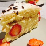 Felie de tort Fraisier