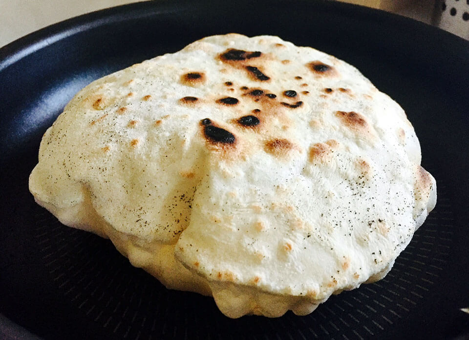 Lipii libaneze de casă rapide și gustoase la tigaie
