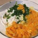 Ingrediente pentru chiftele de post cu cartofi și orez, la cuptor