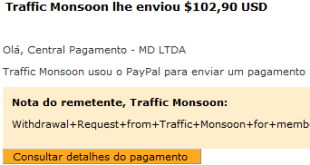 57º Pagamento Traffic Monsoon $102 29 Outubro