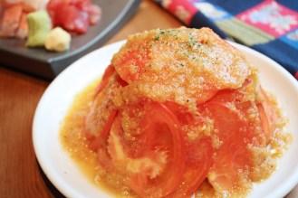 ぱぐぱぐ風冷やしトマト